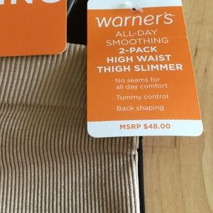 b069532c4f2 Warner s Intimates   Sleepwear - New Warner s 2pack All-Day smoothing  SHAPEWEAR